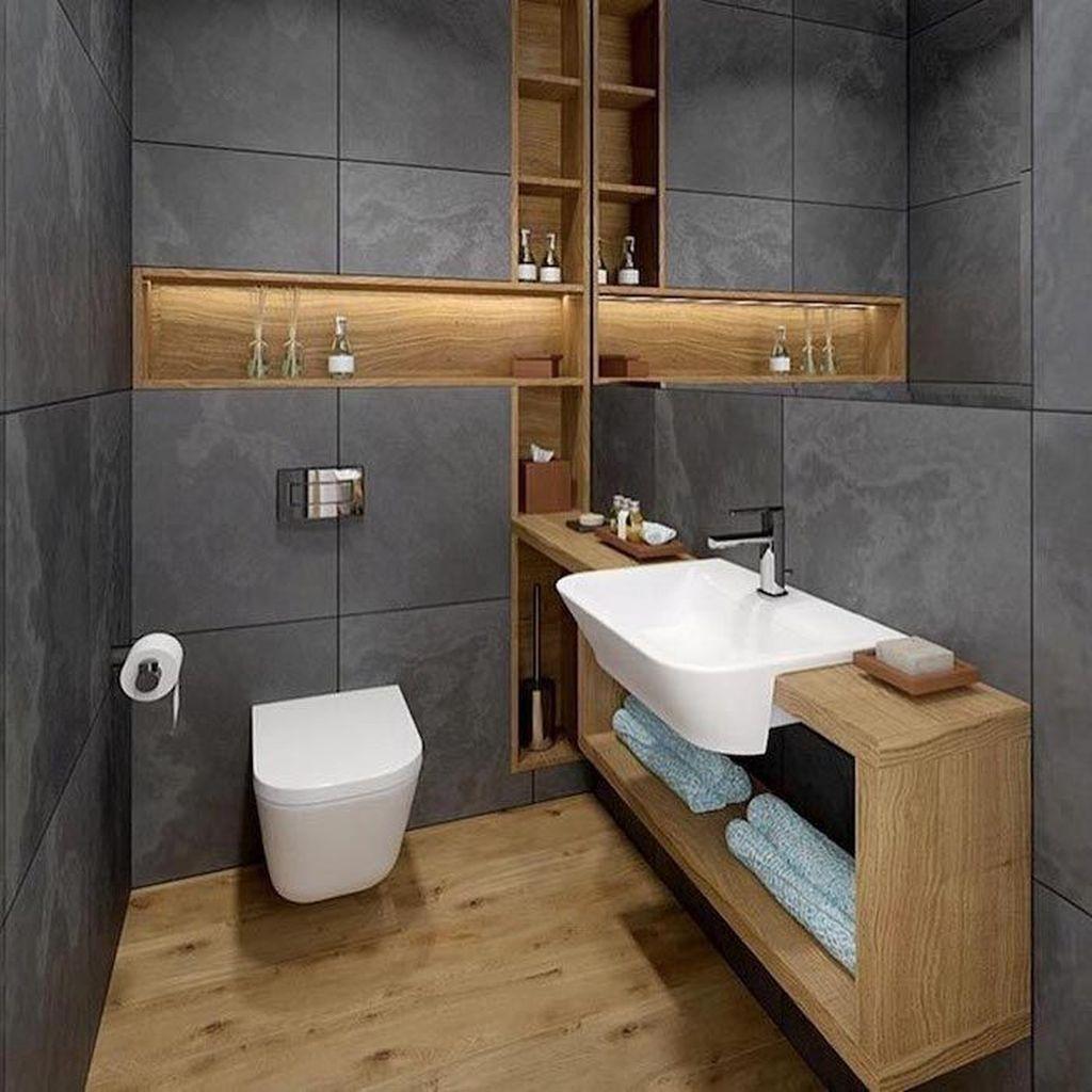 40 Adorable Wooden Bathroom Design Ideas For You In 2020