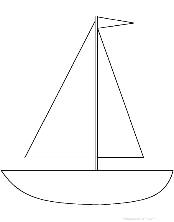 Nerdy image throughout boat template printable