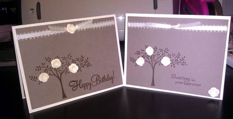 Happy Birthday / Sympathy by Dominique410 - Cards and Paper Crafts at Splitcoaststampers