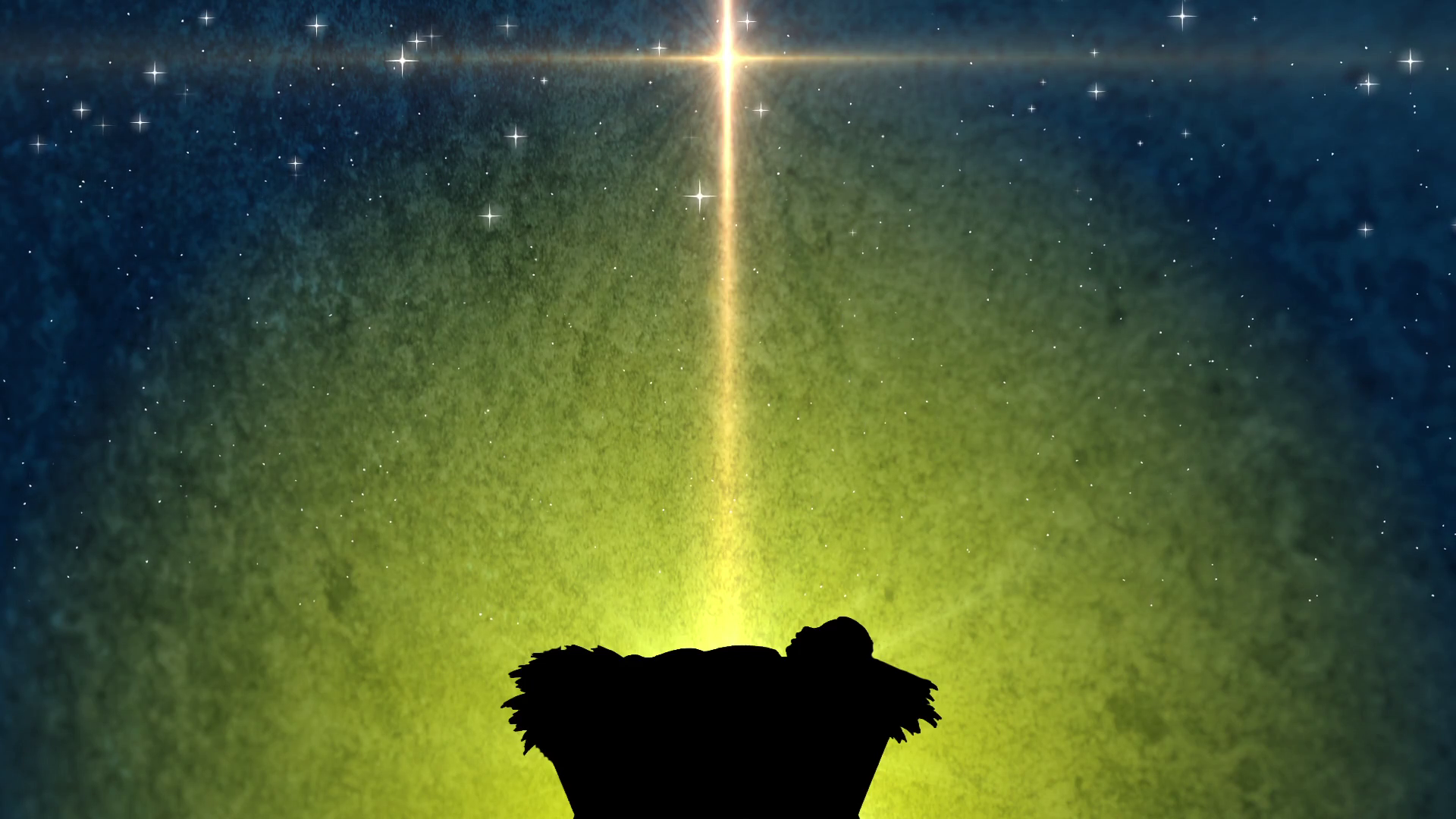 Baby In The Manger Christmas Background Church Religious