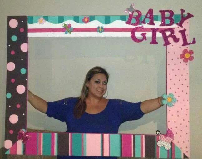 Ideas Para Fiestas · Yvbb · Baby Shower FrameBaby ...