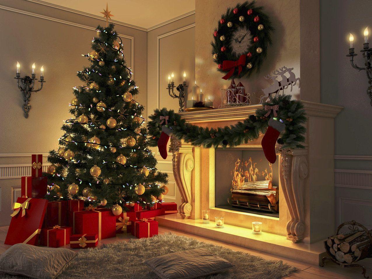 Najpiekniejsze Choinki Na Swiecie Rockefeller Center Rio De Janeiro Christmas Tree And Fireplace Christmas Backdrops Holiday Decor