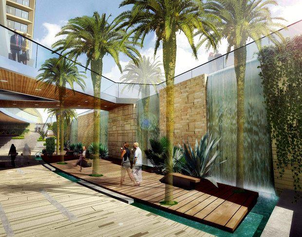 interior landscape design Google Search oasis Pinterest