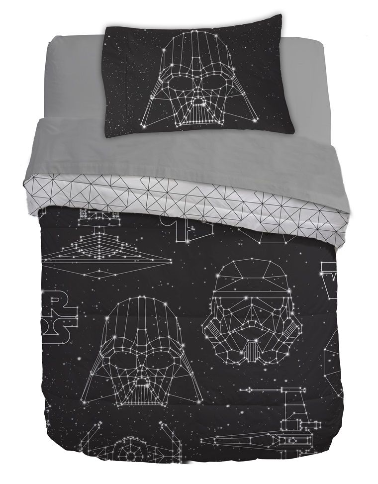 Star Wars Disney Bettwäsche Bettbezug Kylo Ren 135x200/ 80x80/ 100% Baumwolle Modernes Design Bettwaren, -wäsche & Matratzen