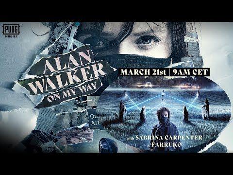 On My Way Lyric Alan Walker Sabrina Carpenter Farruko Songs