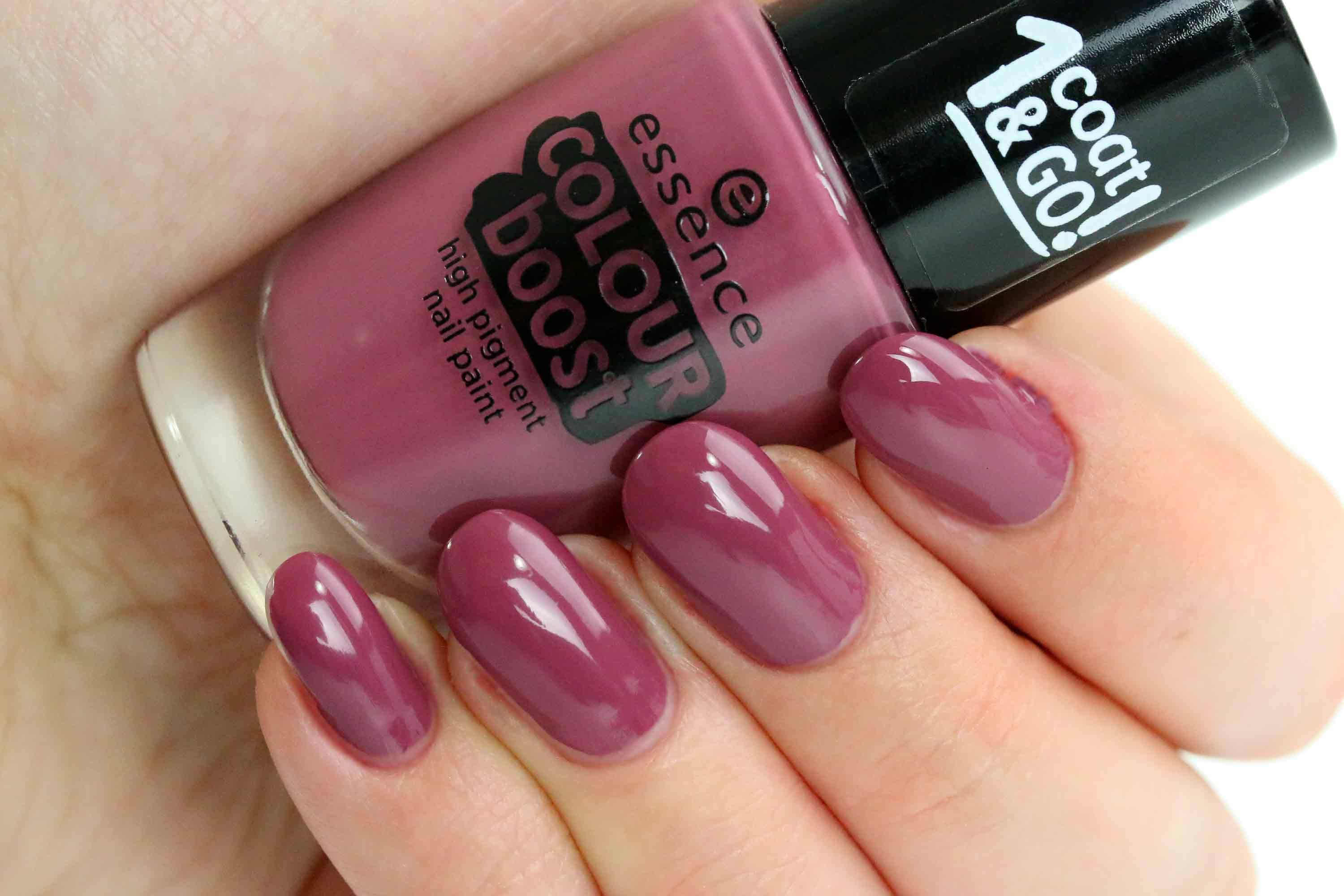 Review] essence Colour Boost Nagellack | Pink polish and Makeup
