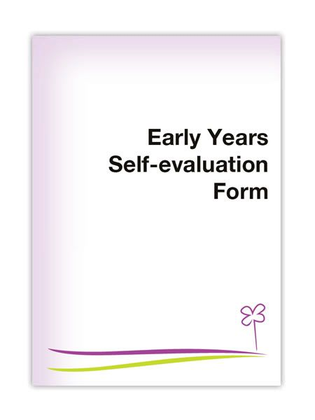 Early Years Self Evaluation Form Childcare Articles Pinterest - how to create evaluation form