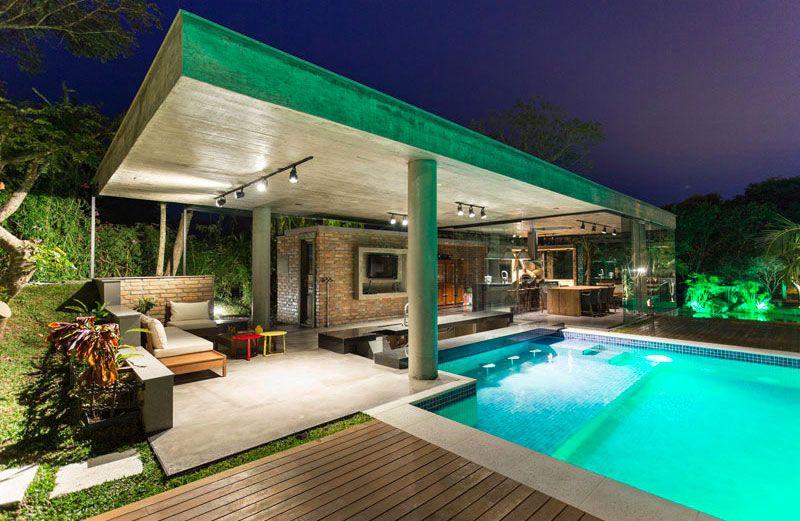 11 idées pour intégrer un pool house moderne à coté de votre piscine