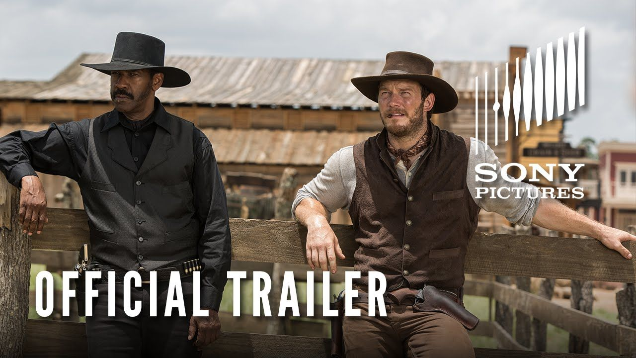 The Magnificent Seven Go Out With Guns Blazing In A New Trailer For The Western Remake The Magnificent Seven Denzel Washington Magnificent 7