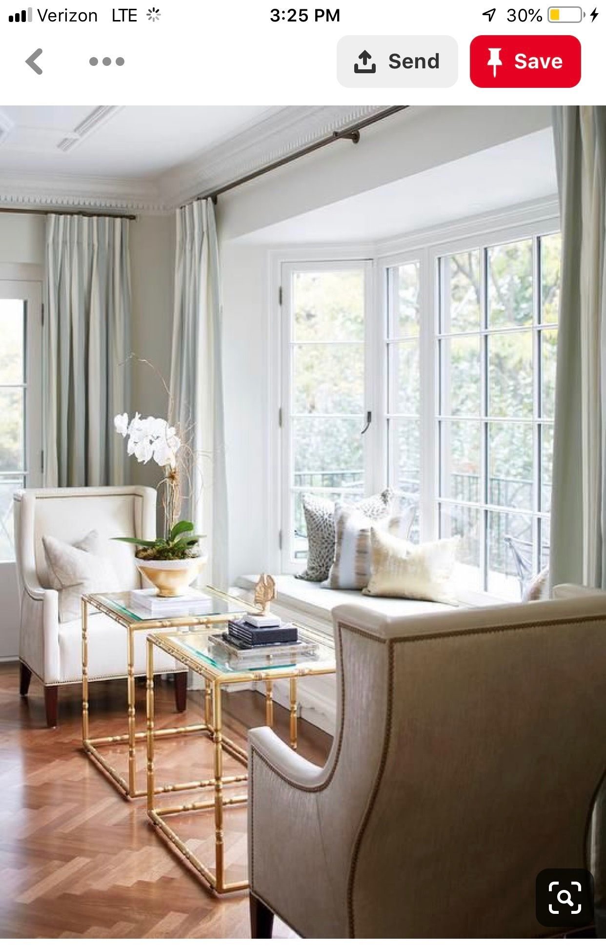 Living Room Modern Bay Window Curtains 2021