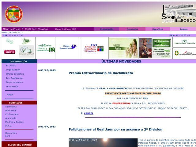 El Instituto De Educación Secundaria San Juan Bosco Cuenta Entre Sus Instalaciones Con Aulas De Ciclos Formativ Educacion Secundaria Juan Bosco Ciclo Formativo