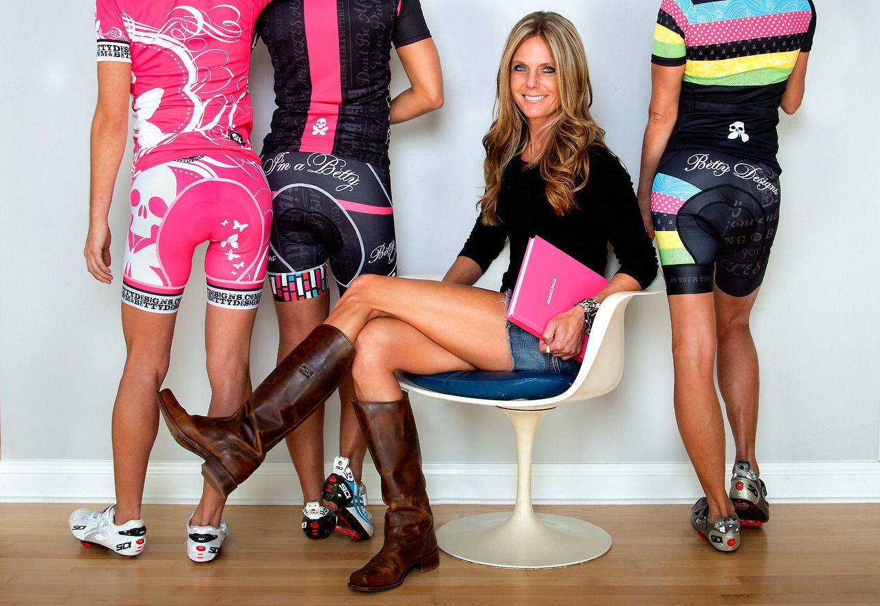 Betty Designs cycling kits