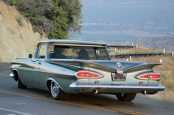 1959 First Year Of El Camino Production Cruising Through The Good