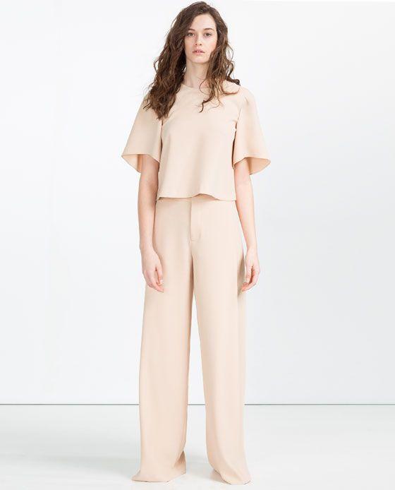 Anchos Pantalon Large 1 Pantalones De Image ZaraWoman m80Nnw