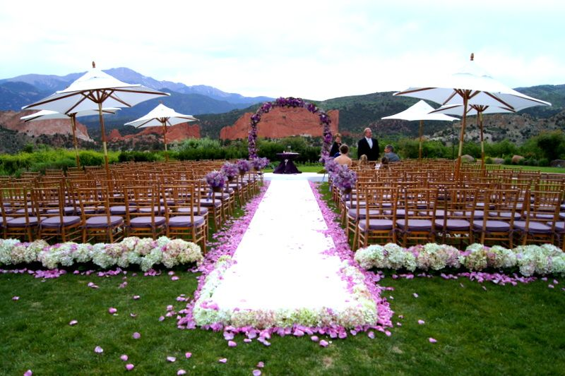 Wedding At Garden Of The Gods Country Club. Florals U0026 Decor By Design Works  Floral Studio In Colorado Springs, CO