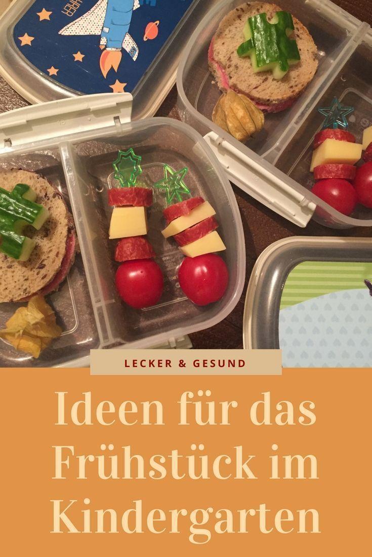 Ideen für das Frühstück im Kindergarten und die Brotdose (Bentobox ...