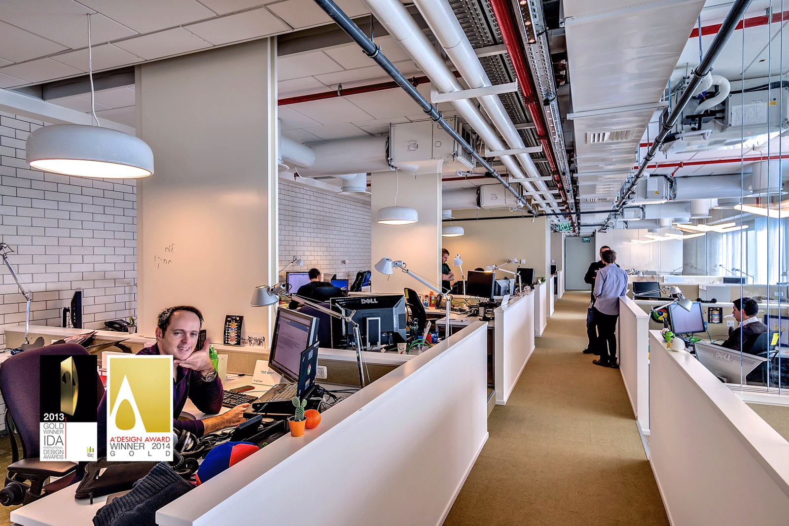 nice google office tel aviv. Google Office,Tel Aviv / Office Architecture - Technology Design Nice Tel C