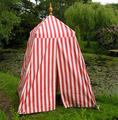 Red and White Striped Tent | Empire Bathing Tent | Football Stripe & Red and White Striped Tent | Empire Bathing Tent | Football Stripe ...