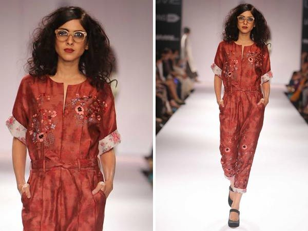 LFW 2014 : Pratima Pandey Displays Stylish Fabrics - Boldsky