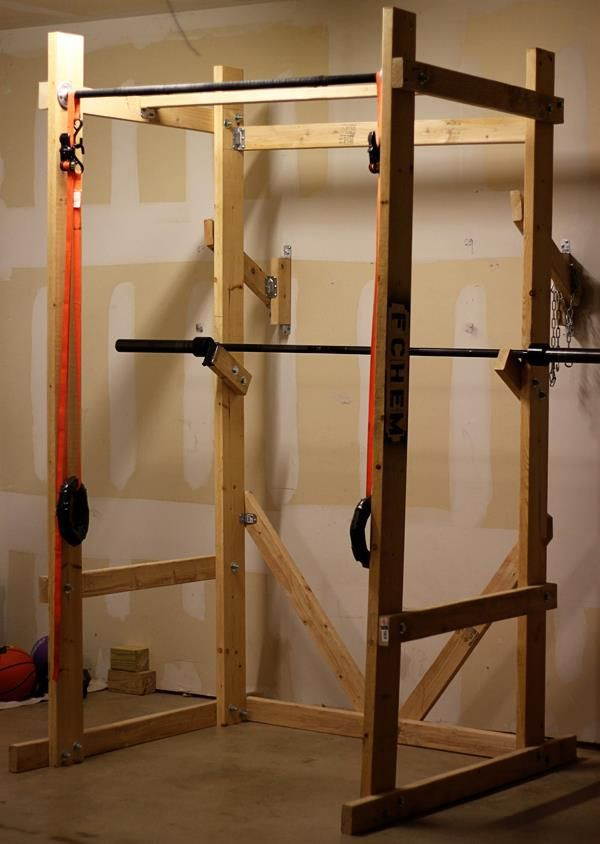Diy power rack lift pinterest
