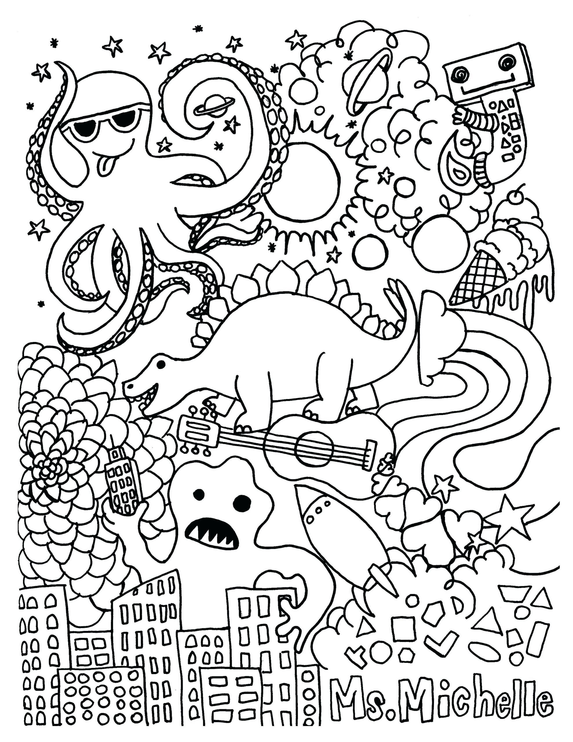 Free Printable Coloring Pages For First Graders