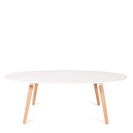 Cette+table+basse+design+KELLY+large+rappelle+la+simplicité+et+l'élégance+du+design+scandinave+des+années+50.+ Cette+table+blanche est+une+belle+réinterprétation+très+actuelle+du+style+de+cette+époque.
