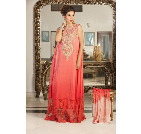 Pakistani Designer Dresses in UK - Lowest Prices - Fully Stitched ...