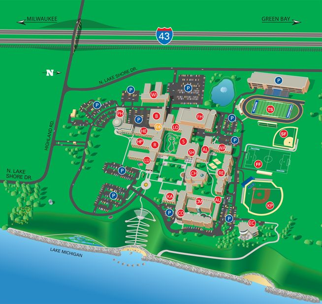 Concordia University Wisconsin Campus Map | Campus Life