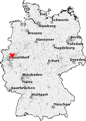 Wuppertal Deutschland Deutschland Wuppertal Deutschlandkarte Karte Deutschland Karlsruhe Karte