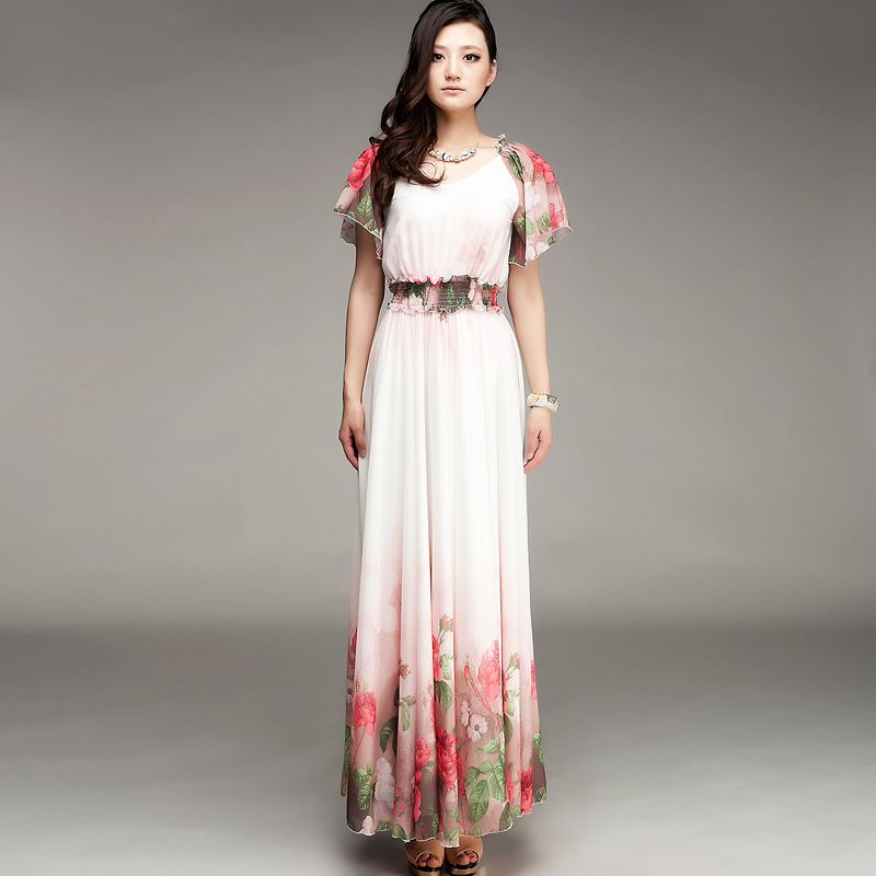 Womens Long Summer Dresses Photo Album - Reikian