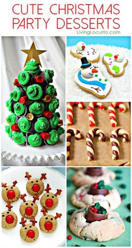 Cute christmas party dessert ideas adorable and easy to make cute christmas party dessert ideas adorable and easy to make holiday recipe ideas forumfinder Gallery