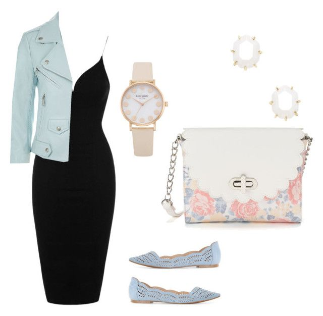Untitled #28 by amra-fd on Polyvore featuring polyvore fashion style Topshop Rebecca Minkoff Candie's Kendra Scott clothing