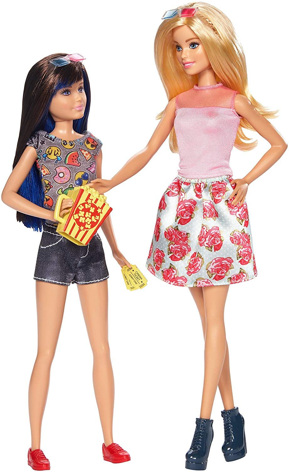 Two Barbie Sister Dolls Together In One Pack Double The