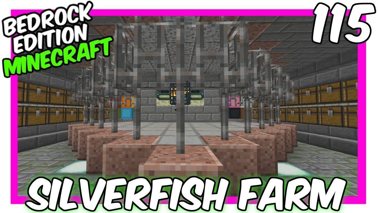 Elegant Silverfish Farm End Portal Bedrock Edition