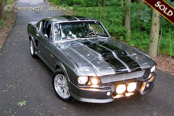 Eleanor 1967 Ford Mustang Shelby Gt500 I Want To Restore An Old