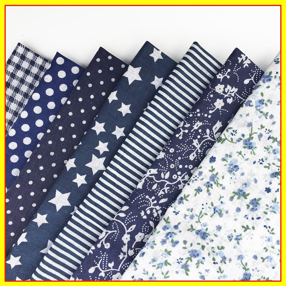 7piece 30cm*30cm Mix Floral Bundle Sewing Patchwork For Fabric Quilting Tissue Tilda Doll Cloth Home Textile…
