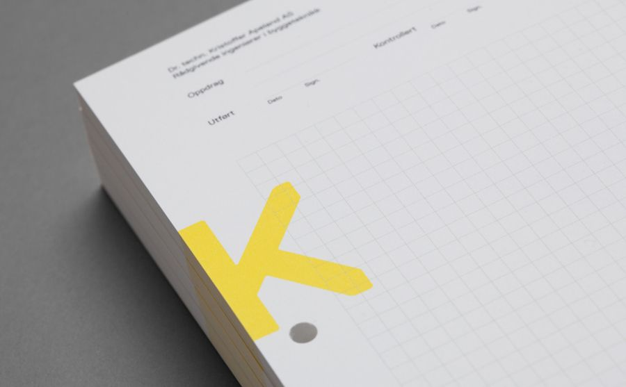 New Brand Identity for K Apeland by Bielke\Yang u2014 BP\O Graphic - graph paper word document