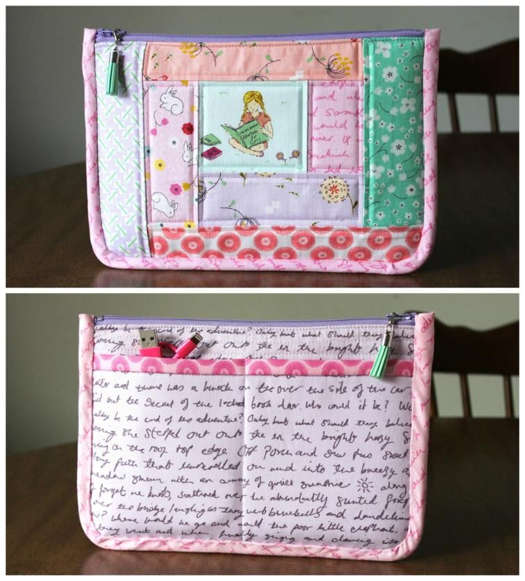 Quilted Mini Tablet Case PDF | C R A F T S | Pinterest