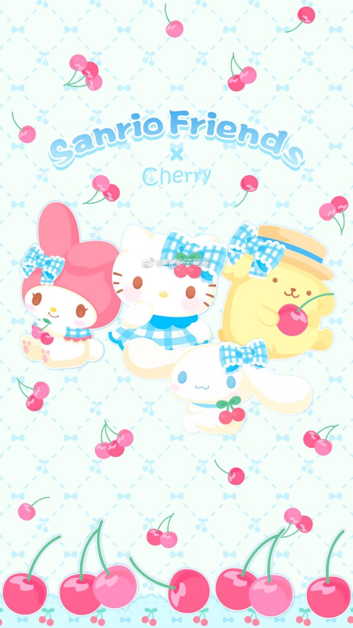 Sanrio Wallpaper おしゃれまとめの人気アイデア Pinterest Lilpang Cutiez シナモロール 壁紙 マイメロ 壁紙 サンリオ 壁紙