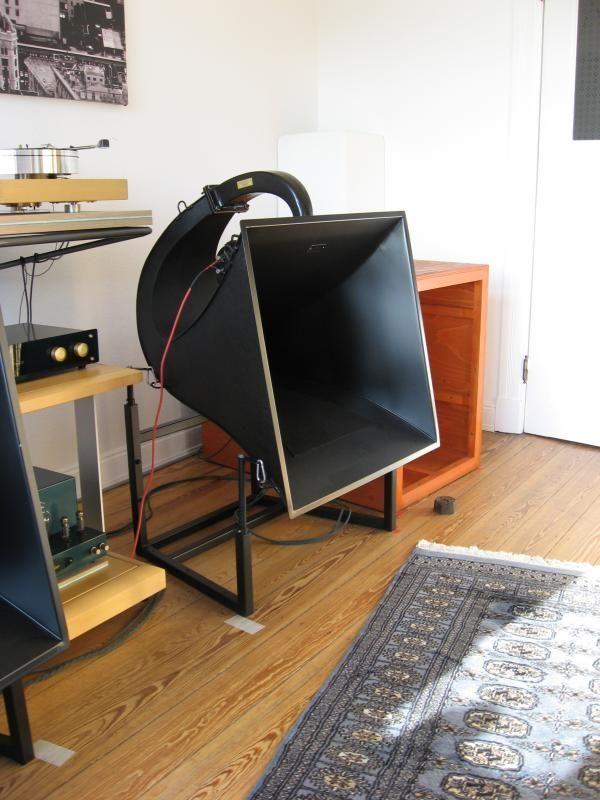pin von georg k hner auf hornlautsprecher h rner. Black Bedroom Furniture Sets. Home Design Ideas