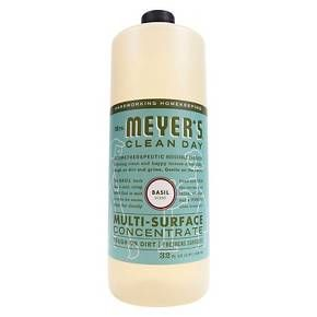 Mrs. Meyer's Multi-Surface Concentrate Basil - 32 oz : Target