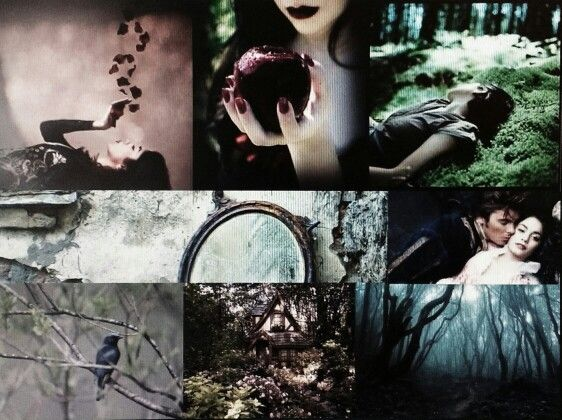 Fantasy Collages Number 3: Snow White