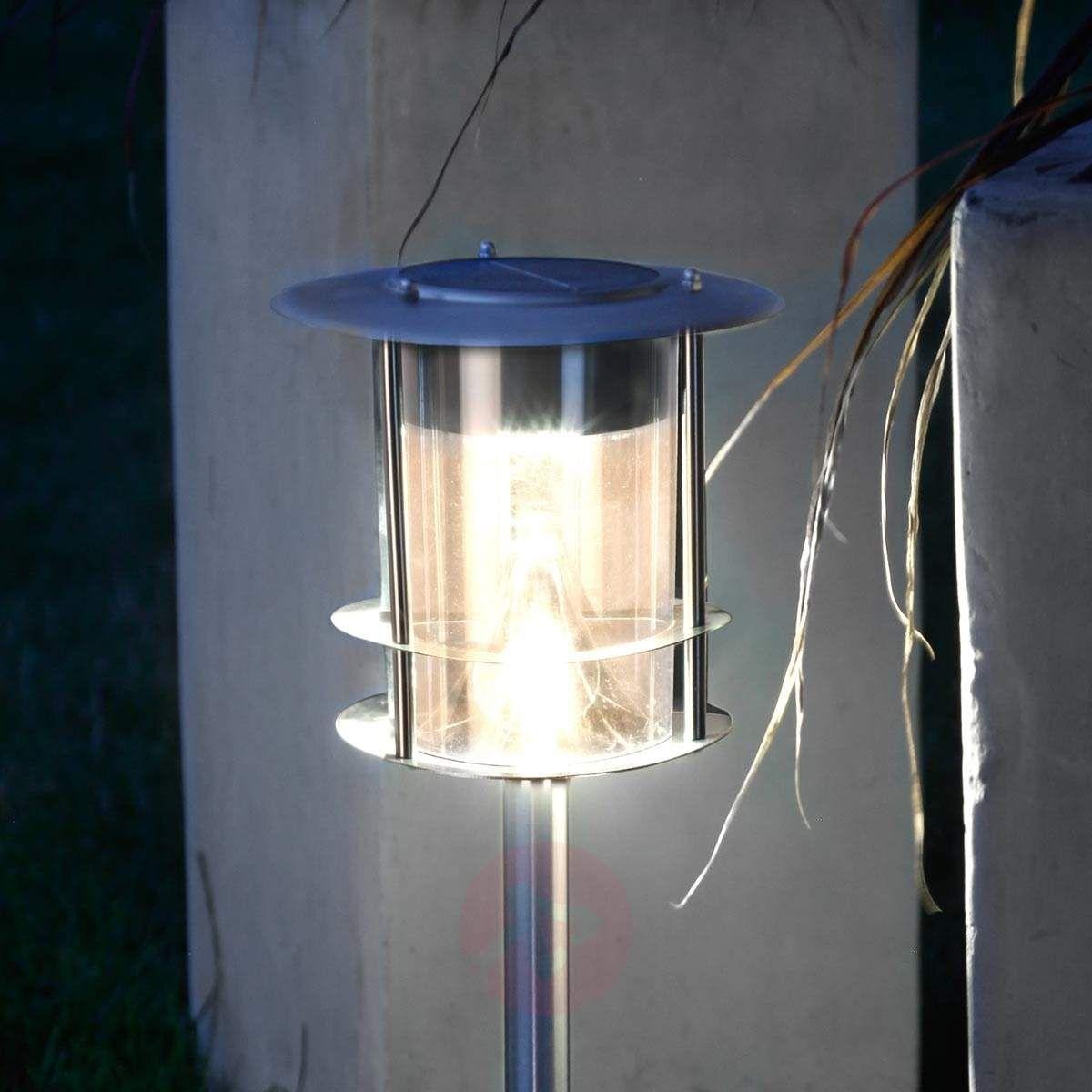 Lampa solarna LED Garden Stick z grotem ziemnym | Lampy