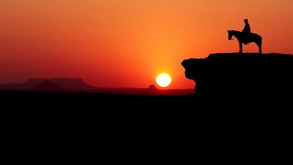Account Suspended Desert Sunset Sunset Mouse Pad