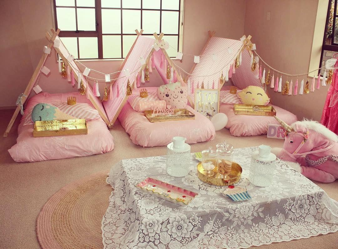 Birthday Party Picnic Slumber Party Sleepover Kits Hire