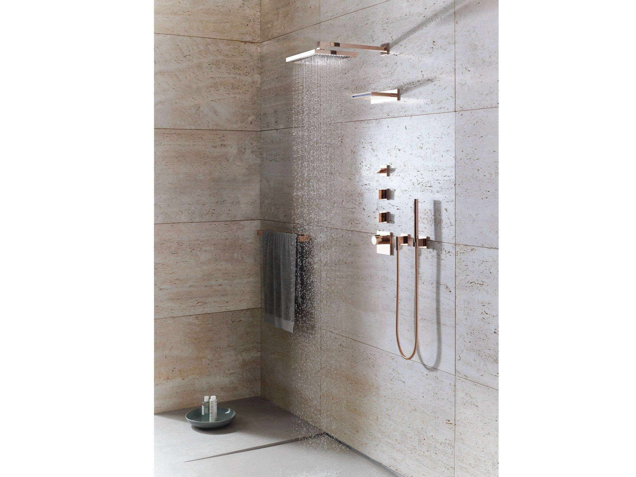 Wall Mounted Rain Shower Mem Collection By Dornbracht - Design Sieger