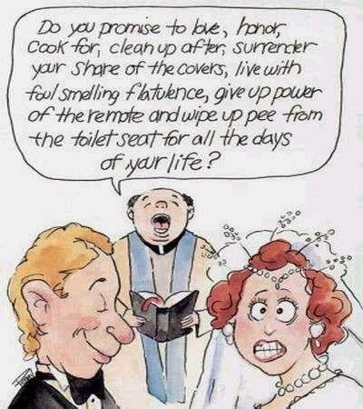 Bad Marriage Cartoons