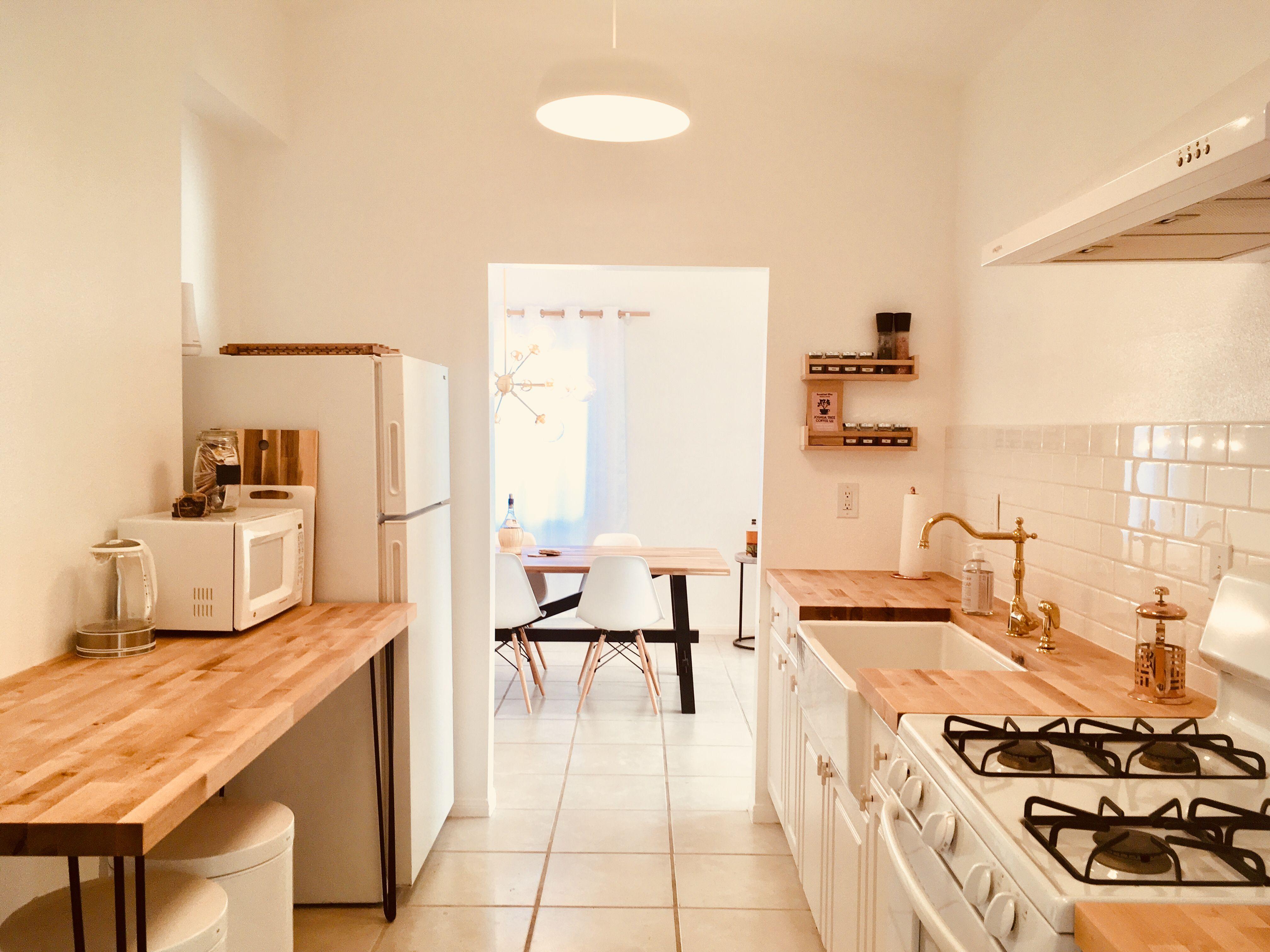 The clean minimalist Scandinavian desert kitchen of 'The ...