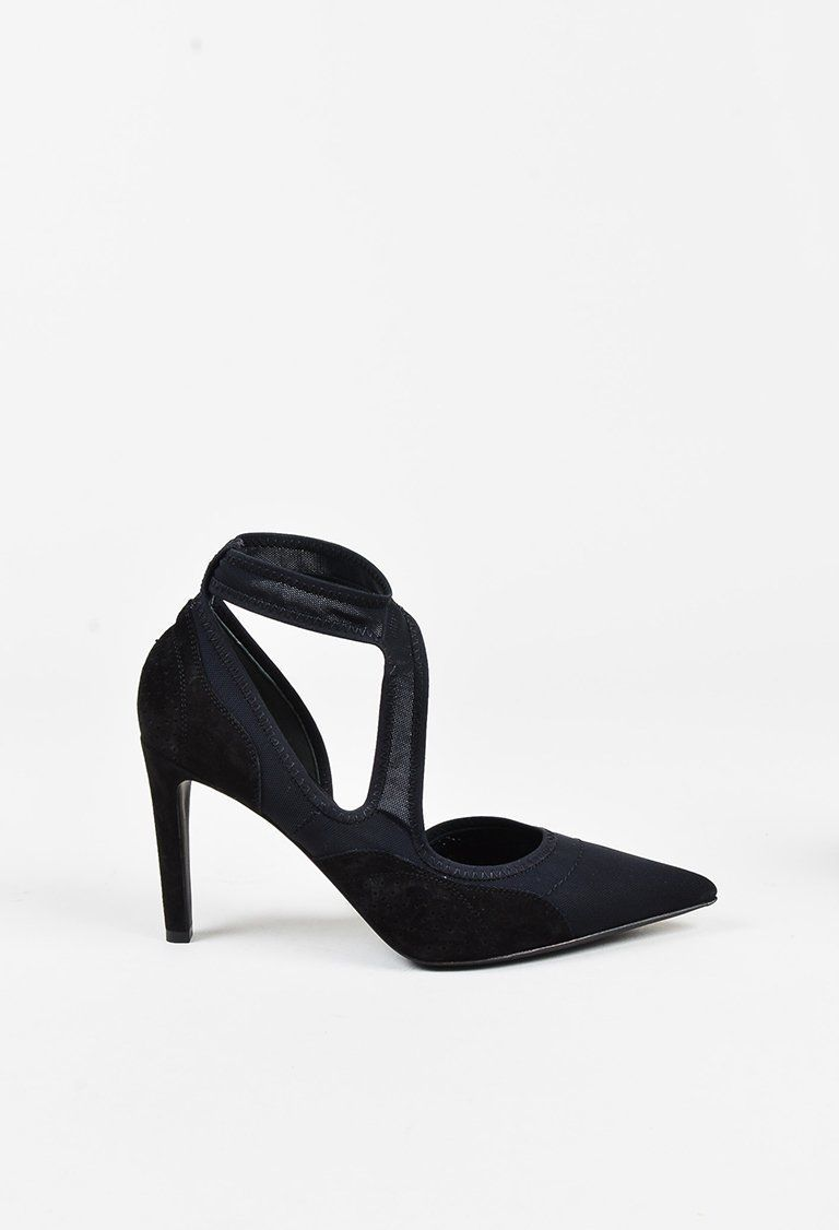 Balenciaga Suede D'Orsay Pumps discount explore buy cheap collections reliable really outlet pay with paypal reb6d0n