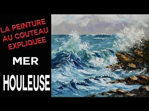 Comment Peindre La Mer Rapide Et Facile. Peindre La Mer A L`Huile Au